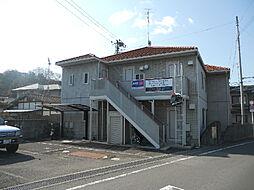 愛媛県松山市吉藤5丁目の賃貸アパートの外観
