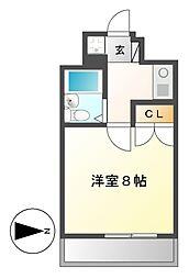 エクセル吹上[6階]の間取り