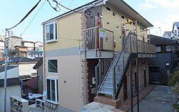 神奈川県横浜市鶴見区馬場5丁目の賃貸アパートの外観