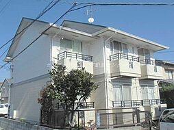 岡山県岡山市北区津島南2丁目の賃貸アパートの外観