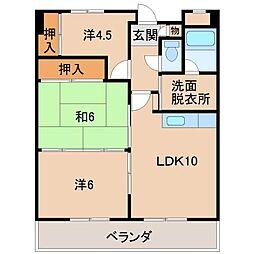 K.S.Tビル[2階]の間取り