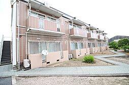 岡山県倉敷市西阿知町西原の賃貸アパートの外観