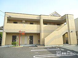 愛知県豊田市竹元町南嶋の賃貸アパートの外観