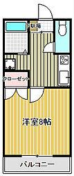 NKハイツ[4階]の間取り
