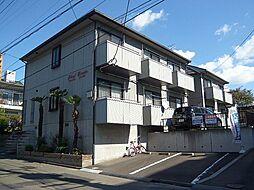 宮城県仙台市若林区土樋の賃貸アパートの外観