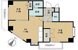 セピアタワー[2階]の間取り