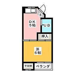 スペースタウン[2階]の間取り