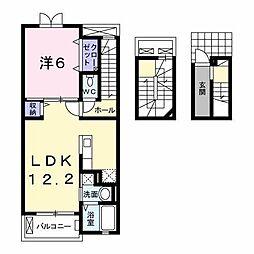 レ・セーナ[3階]の間取り