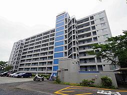 所沢コーポラスA棟[4階]の外観
