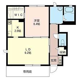 Mon Chien[1階]の間取り