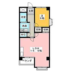 第2水野マンション[2階]の間取り