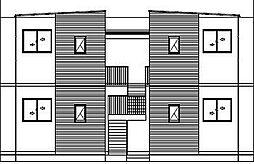 ラ・グランジュール伍番館[2階]の外観