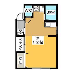 ひかり荘[1階]の間取り
