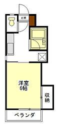 シーサイドマンション[1階]の間取り