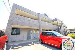 兵庫県加古川市野口町長砂の賃貸アパートの外観