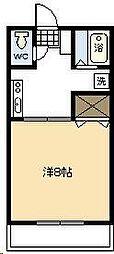 MINAMI COURT[202号室]の間取り