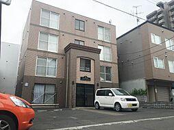 北海道札幌市西区西町北9丁目の賃貸マンションの外観