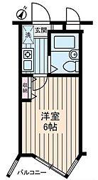神奈川県相模原市緑区橋本2丁目の賃貸マンションの間取り