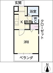 EXCEL TOWN[3階]の間取り