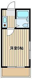 グランセジュール石神井台[4階]の間取り