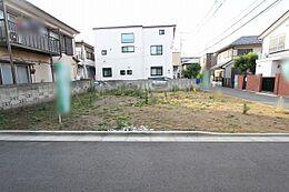 現地写真(2018年5月29日)撮影/閑静な住宅街