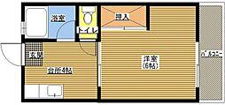 メゾン松香[301号室]の間取り