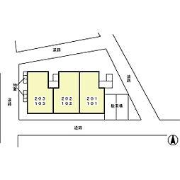 プレジール エルピ[1階]の外観