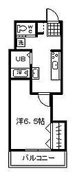 第2小田ビル[405号室]の間取り