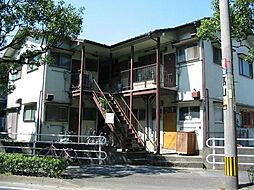 第一的場アパート[2階]の外観