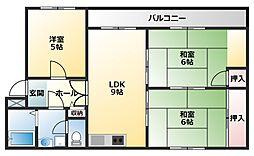 ラインプラザ本郷[3階]の間取り