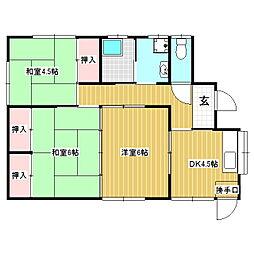 [一戸建] 長野県伊那市境 の賃貸【/】の間取り