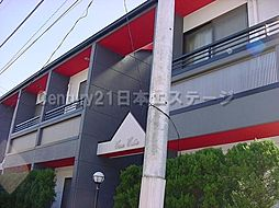 東京都大田区東雪谷2丁目の賃貸アパートの外観