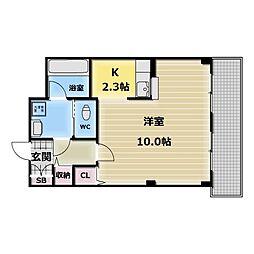 パールソフィア[2階]の間取り