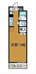 神奈川県相模原市南区相南4の賃貸マンションの間取り