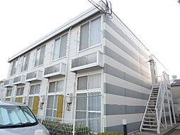 大阪府大阪市平野区加美東2丁目の賃貸アパートの外観