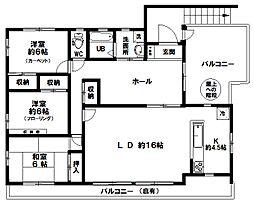 [一戸建] 東京都八王子市上野町 の賃貸【/】の間取り