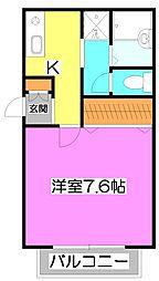 エスタシオン志木[2階]の間取り