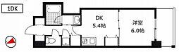 クリーデンスFUKUSIMA[5階]の間取り