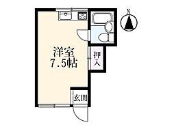 アパートメント 12[106号室]の間取り