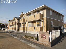 三重県多気郡多気町仁田の賃貸アパートの外観
