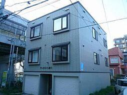 北海道札幌市南区澄川四条4丁目の賃貸アパートの外観