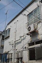 東京都北区中十条2丁目の賃貸アパートの外観