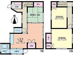 [一戸建] 神奈川県横浜市磯子区杉田6丁目 の賃貸【/】の間取り