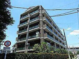 東京都調布市佐須町2丁目の賃貸マンションの外観