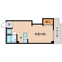 静岡県静岡市葵区鷹匠の賃貸マンションの間取り