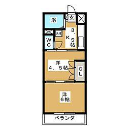 福田町駅 4.3万円