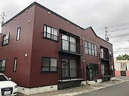 北海道札幌市北区新琴似五条2丁目の賃貸アパートの外観