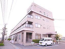 岡山県岡山市北区白石の賃貸マンションの外観