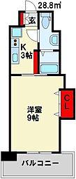 プレステージ デル・エアポート[2階]の間取り