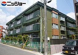 シャンポール西田[2階]の外観